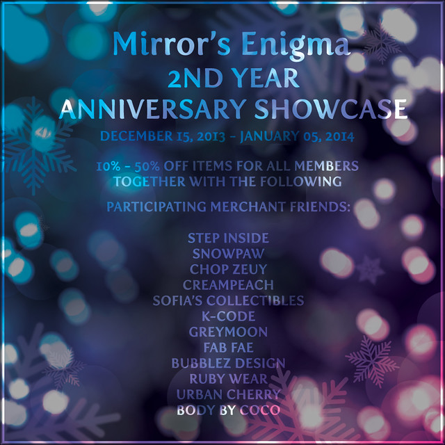 Mirror's Enigma 2nd Year Anniversary Showcase