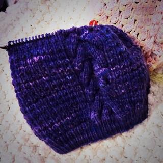 Dark Violet Hat