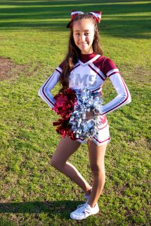 Roosevelt Middle School Cheer Team 2013-2014