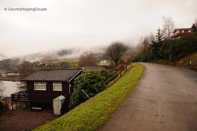 Misty Lochgoilhead Scotland