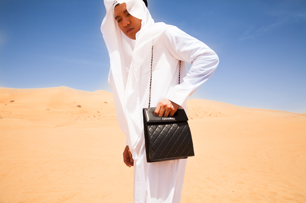 Bryanboy visits the Dubai Desert Conservation Reserve