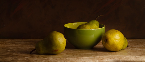Some Pears by Luiz L.
