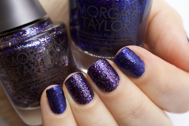 02 Morgan Taylor Regal As A Royal + Sapphires, Rubies and Emeralds Oh My