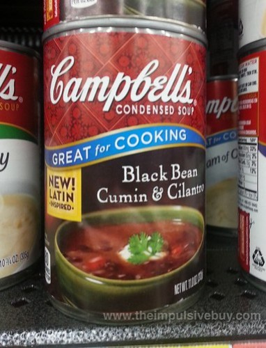 Campbell's Black Bean Cumin & Cilantro Condensed Soup