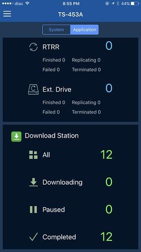 หน้า Dashboard ก็จะมีสถานะของแอปหลักๆ ไว้ให้ดู