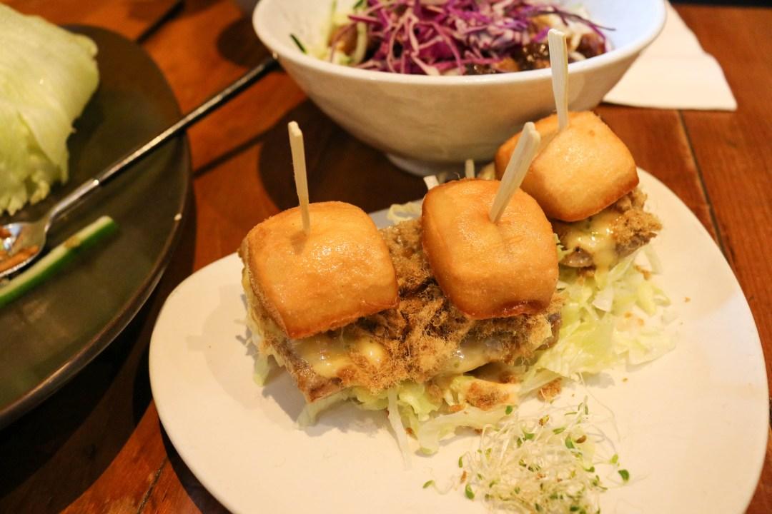 Macanese mini burger
