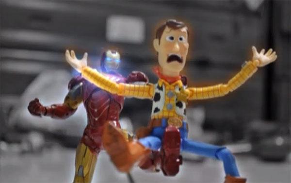 Ironman vs Woody
