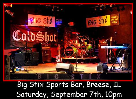 Cold Shot at Big Stix 9-7-13