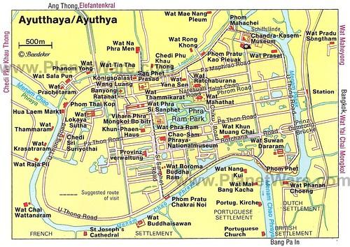 ayutthaya map too