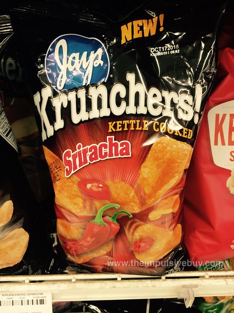 Jays Sriracha Krunchers! Kettle Cooked Potato Chips