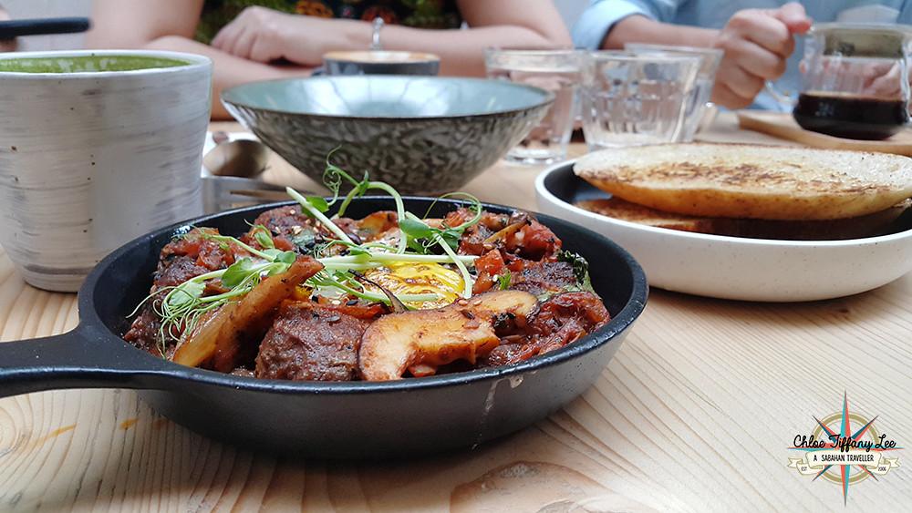 Meatball, Woo! Cafe @eatplaywoo at Australian Place, Jalan Dewan, Kota Kinabalu, Chloe Tiffany Lee