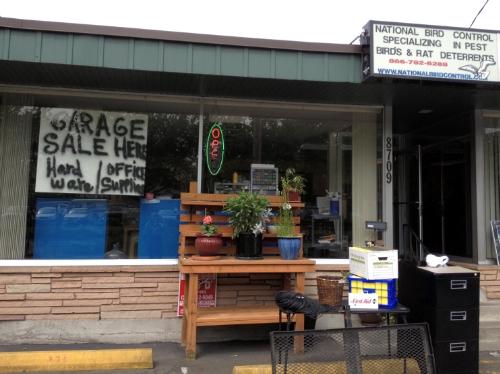 Garage Sale Here