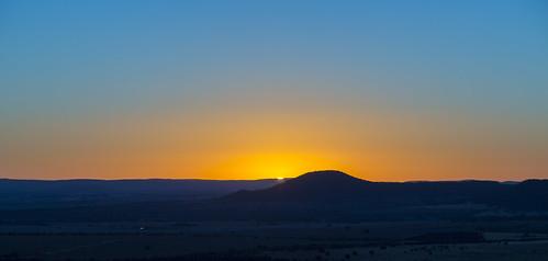 Sunrise on the plains by Daniel Hall - AUS