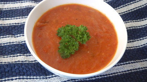 Roasted Tomato and Red Pepper Soup 15