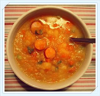 Potato Soup/ Kartoffelsuppe