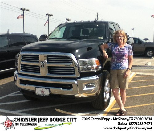 Happy Birthday to Betty Van Houten from Brent Villarreal and everyone at Dodge City of McKinney! #BDay by Dodge City McKinney Texas