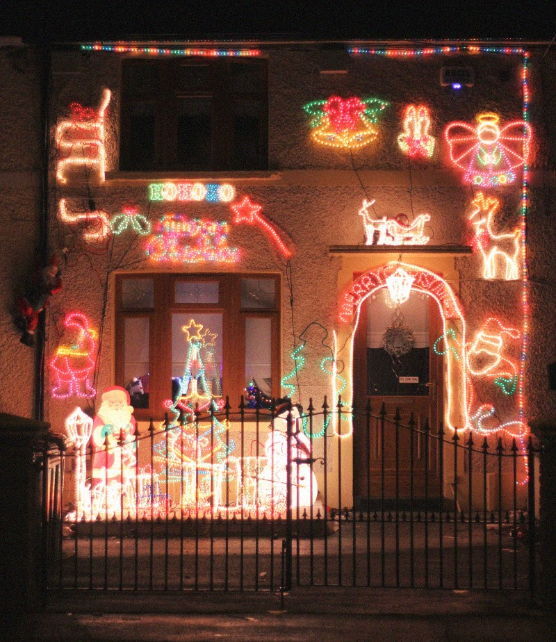 christmas decoration house dublin keeper road