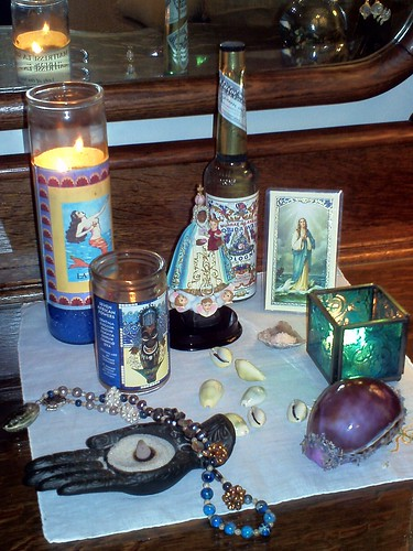 ocean goddess altar