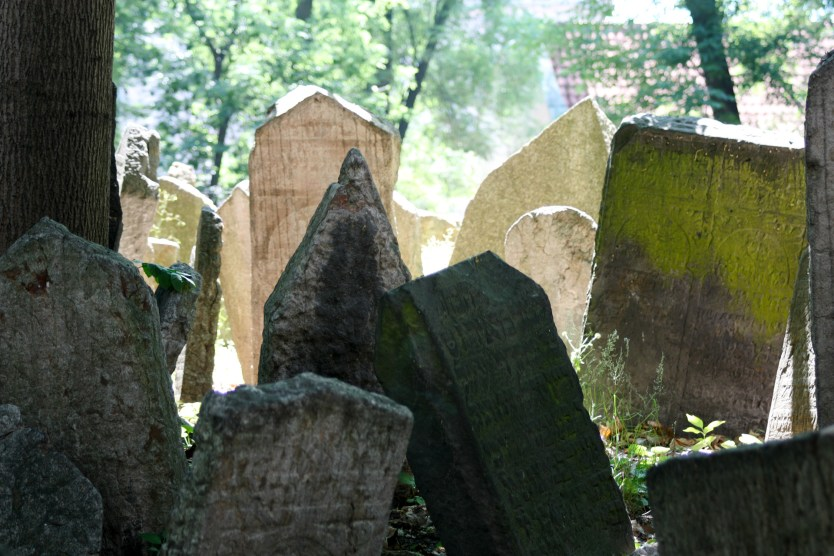 Old Cemetery, Jewish Quarter, Prague.