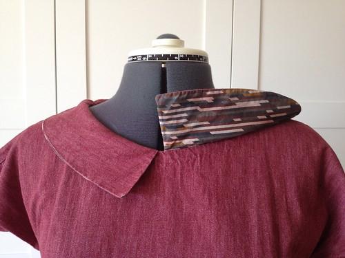 Simplicity 1577 collar