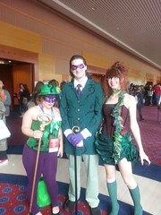 2 Riddlers and Ivy