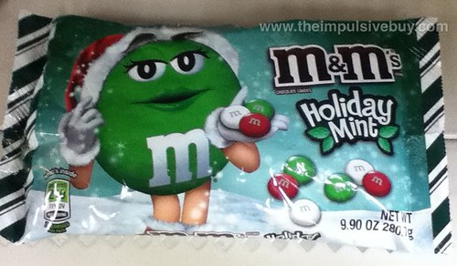 M&Ms Holiday Mint