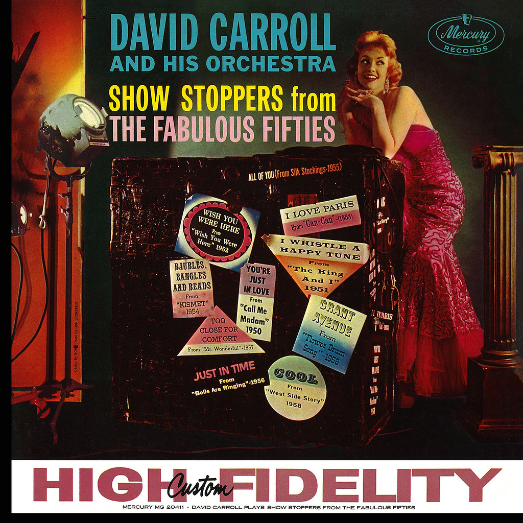 David Carroll - Show Stoppers From The Fabulous Fifties