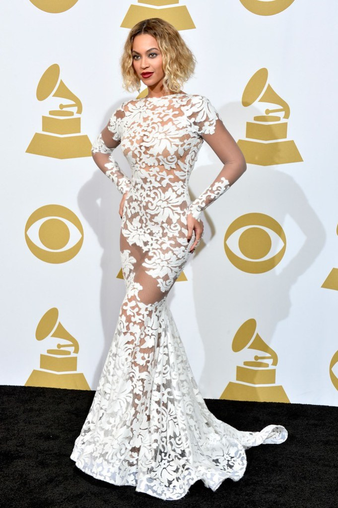 beyonce michael costello gown
