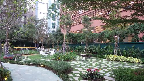 สวนสวยๆ ภายใน The Gardens of Dinsor