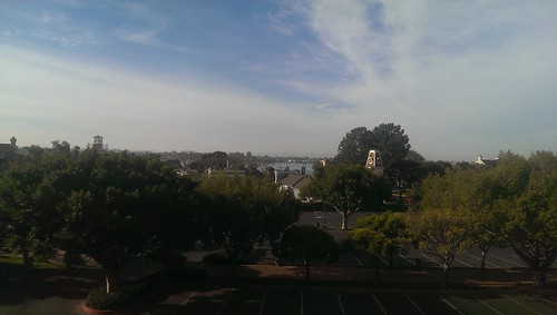 View towards the harbor from the Manchester Grant Hyatt in San Diego