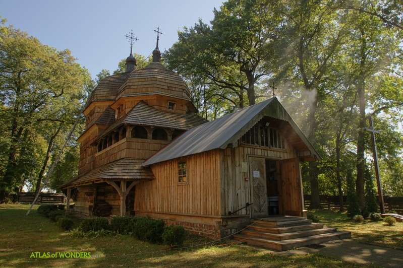 Tserkvas de madera Polonia