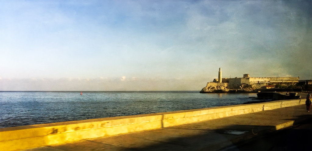 Golden Hour on the Malecón - Havana - 2013