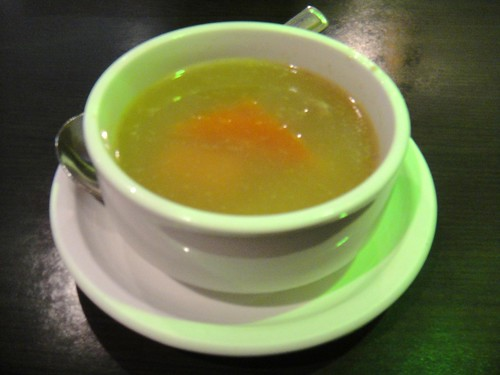 Chinese-style papaya soup