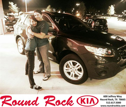 Thank you to Trisha  Hill on your new 2011 #Hyundai #Santa Fe from Kelly  Cameron and everyone at Round Rock Kia! #NewCarSmell by RoundRockKia