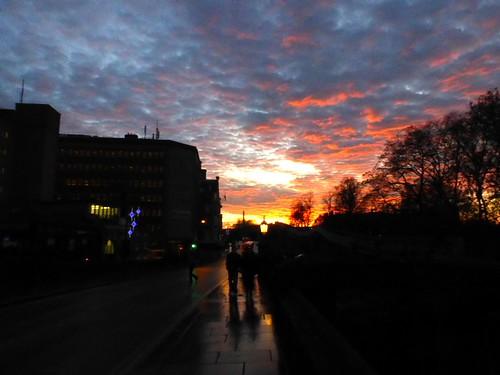 Sunset over York by jonnyleestevens