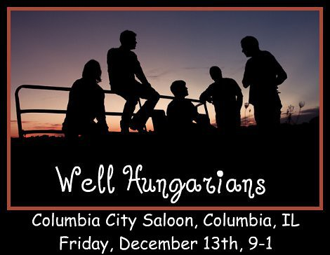 Well Hungarians 12-13-13