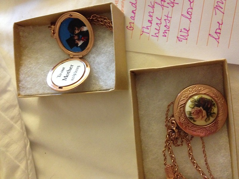 Mother and grandmother lockets