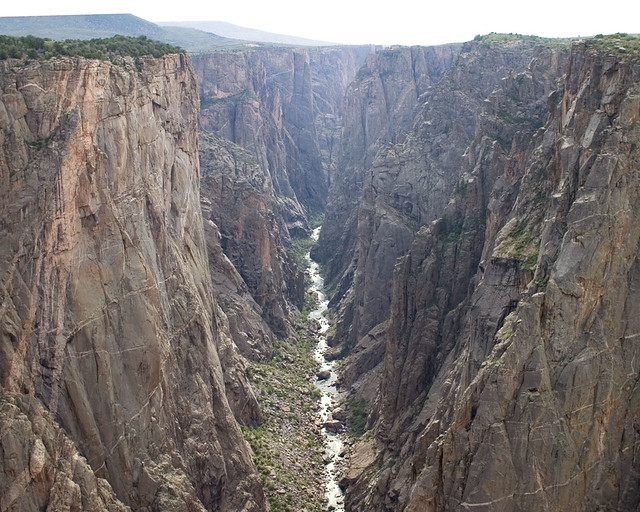 Inner Canyon, Black Canyon of the Gunnison, Inner Canyon Credit: NPS/Lisa Lynch