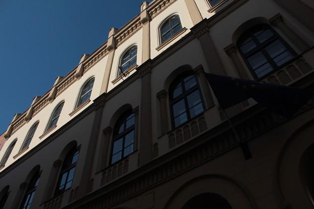 Quartiere ebraico: palazzi decorati