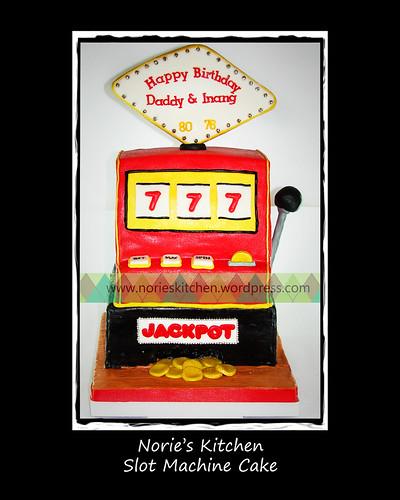 Norie's Kitchen - Slot Machine Cake by Norie's Kitchen