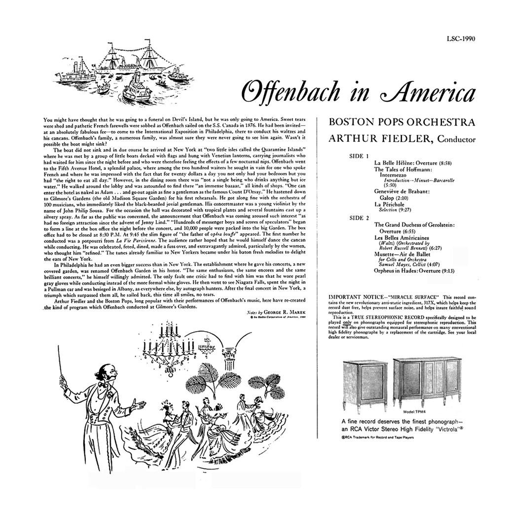 Arthur Fiedler - Offenbach in America