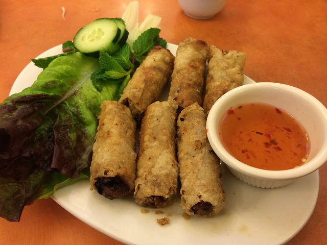 Imperial rolls - PPQ Beef Noodle House