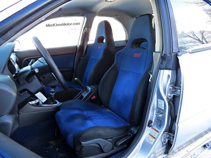 2004 Subaru WRX STi Sport Seats