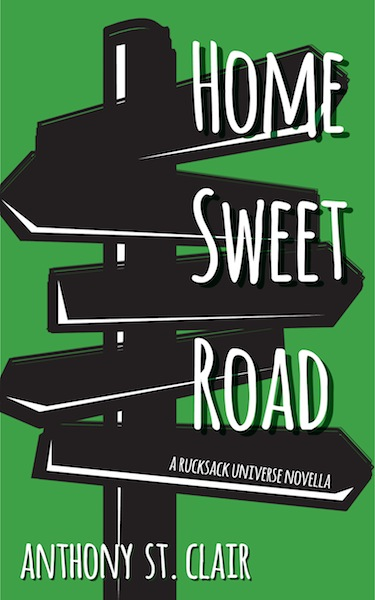 The full HOME SWEET ROAD cover. Coming soon to e-book and paperback