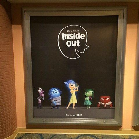 Inside Out 2015年夏公開のピクサー作品。