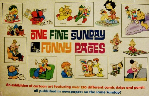 One Fine Sunday in the Funny Pages at Indy PopCon 2014