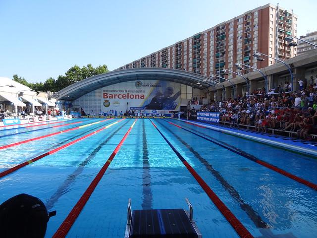Cc photo 529 cn sant andreu pool ready for mare nostrum for Piscina sant andreu