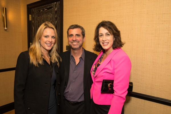 Hilary Newsom Callan, Peter Kaufman, Christine Pelosi