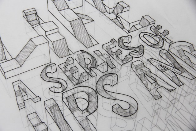 WIP// 3D Typography, draft #1