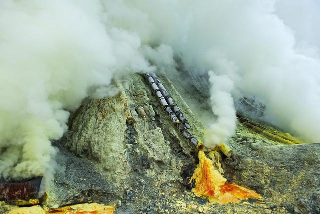Ijen Sulfur